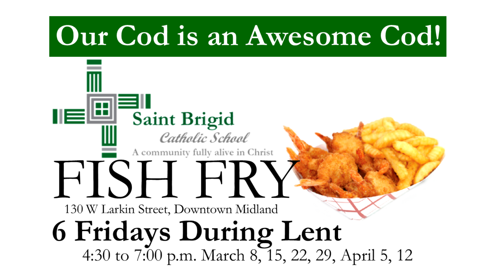 Our Fish Fry is Back!